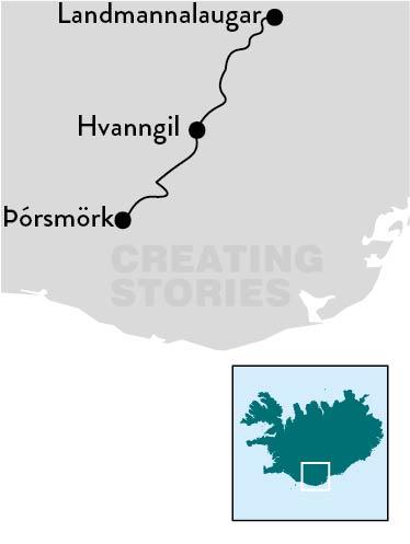 IJsland - Laugavegur Trail 3-daagse groepsreis